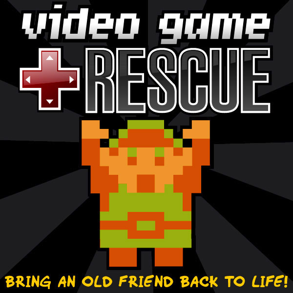 podcast icon1 Video Game Rescue   Episode 31   7:30pm EST Today